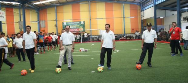 Kejari Kabupaten Bekasi Helat Turnamen Futsal Cup 2018