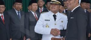Ridwan Kamil resmi melantik Eka Supria Atmaja menjadi Bupati Bekasi