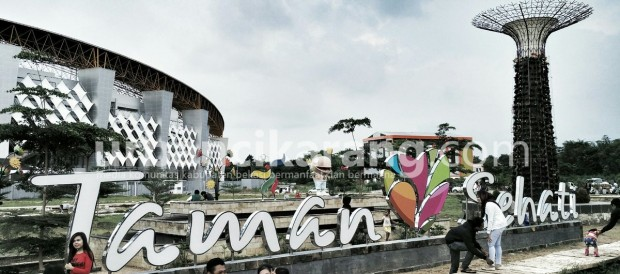 Taman Sehati, Taman Romantis di Stadion Wibawa Mukti Kabupaten Bekasi